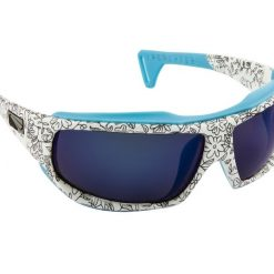 LiP TYPHOON TRI-PEL POLARIZED WATER SHADES Transfer White/Blue