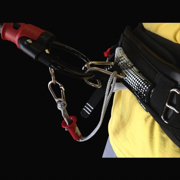 OZONE SHORT SAFETY LEASH W. QUICK RELEASE
